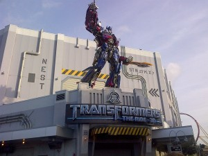 Optimus Transformers Ride 1