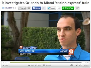9 investigates miami casino express train