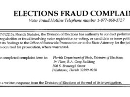election fraud division of elections 1