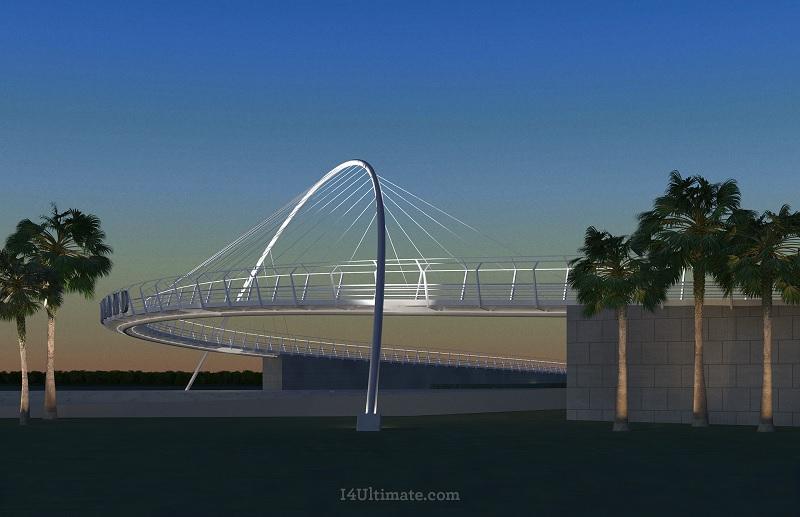 Maitland Avenue Pedestrian Bridge Ultimate I4
