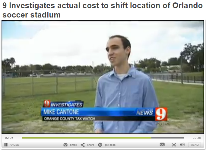 WFTV Mike Cantone Parramore Pond Costs
