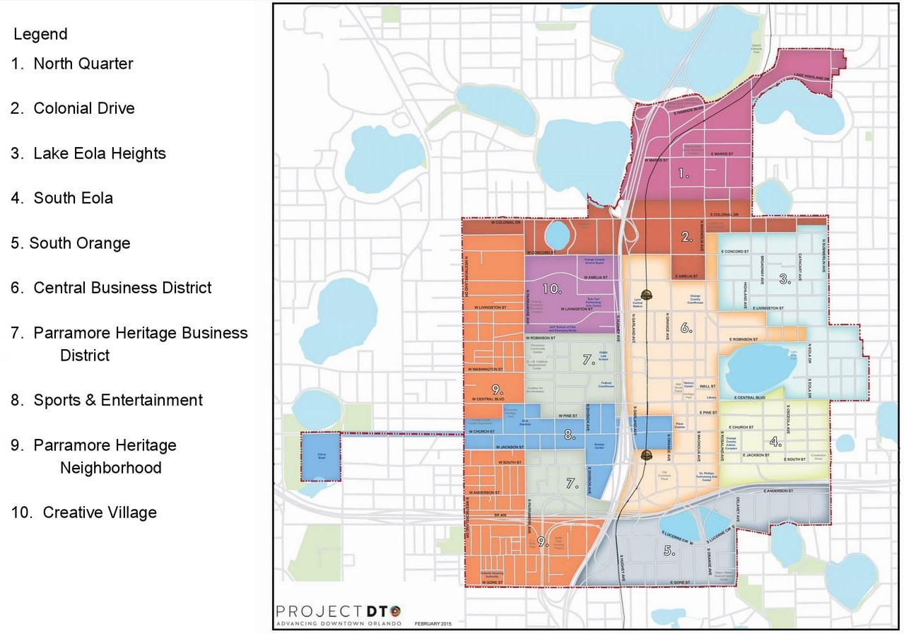 Project DTO Map - Division of Parramore Community