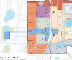 Project DTO Map - Parramore Division