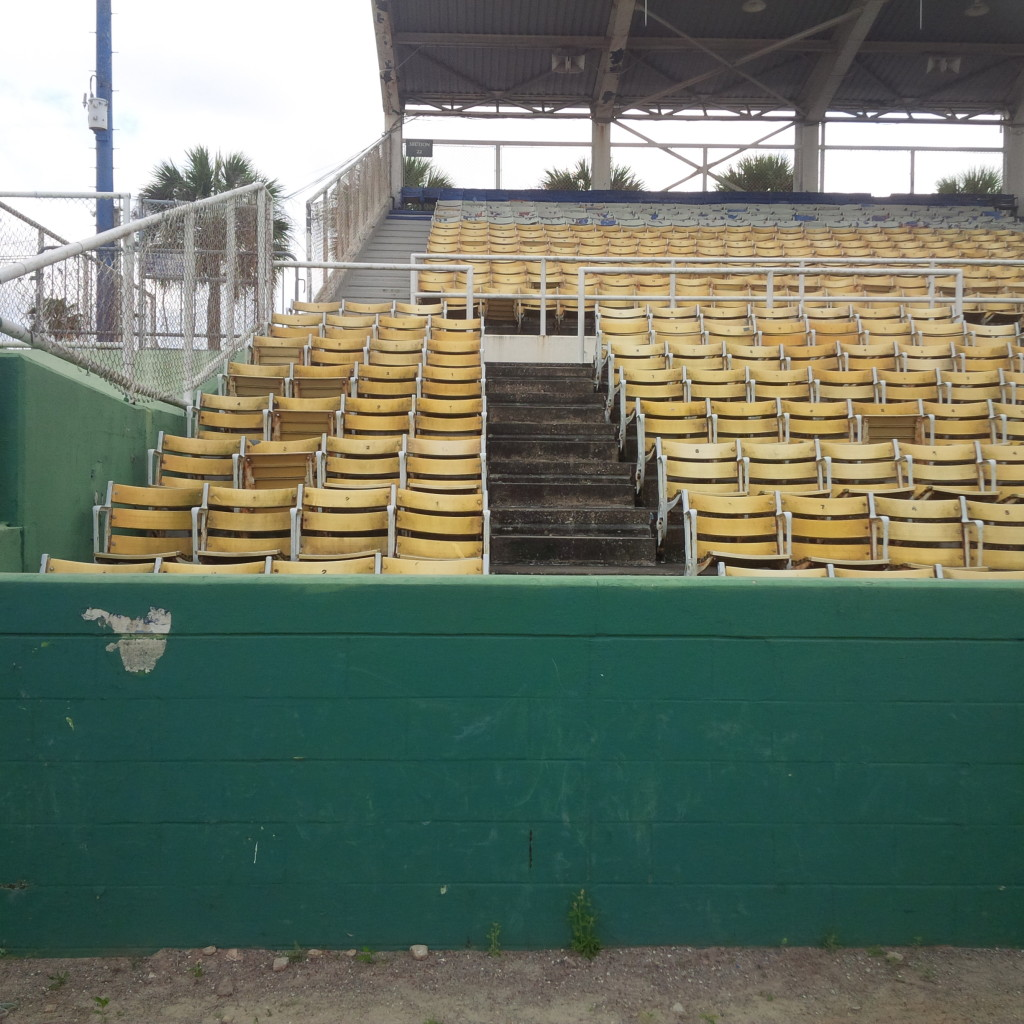 Tinker Field grandstands. (photo by Mike Cantone ©)