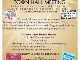 OURM Town Hall Meeting