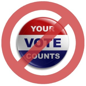 Your Vote Doesnt Count