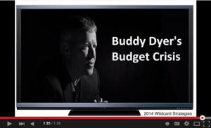 Dyer budget crisis