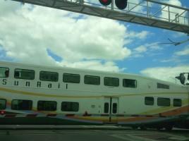 SunRail crossing