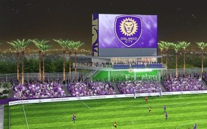 soccer stadium field