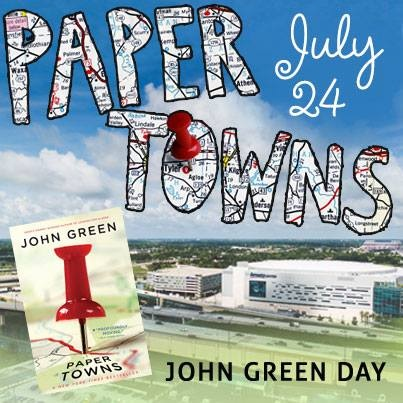 paper towns book setting