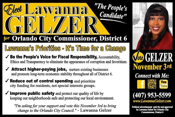 Spending Sam Ings - Lawanna Gelzer Campaign Literature