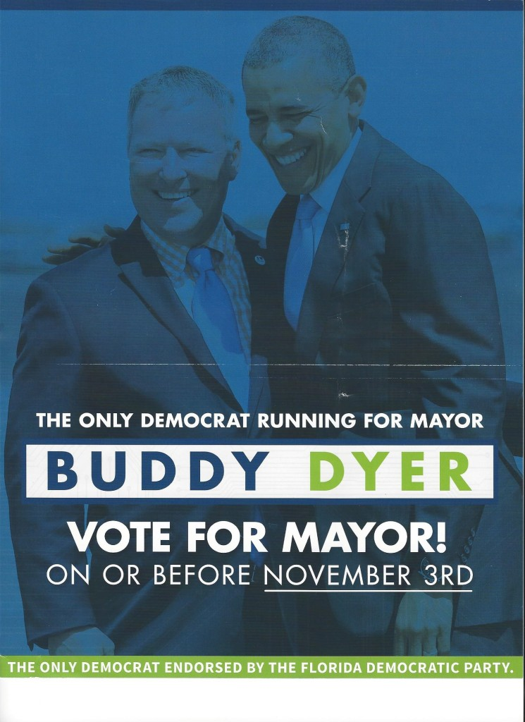 Dyer Campaign Mailer with Obama