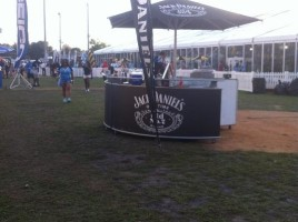 Bar on Tinker Field - bowl games